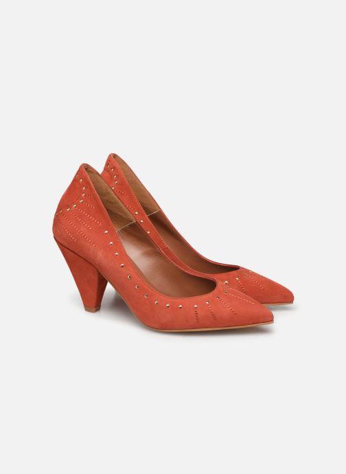 Zapatos de tacón Made by SARENZA Made By Sarenza x Daphné Burki Escarpins Naranja vista lateral izquierda