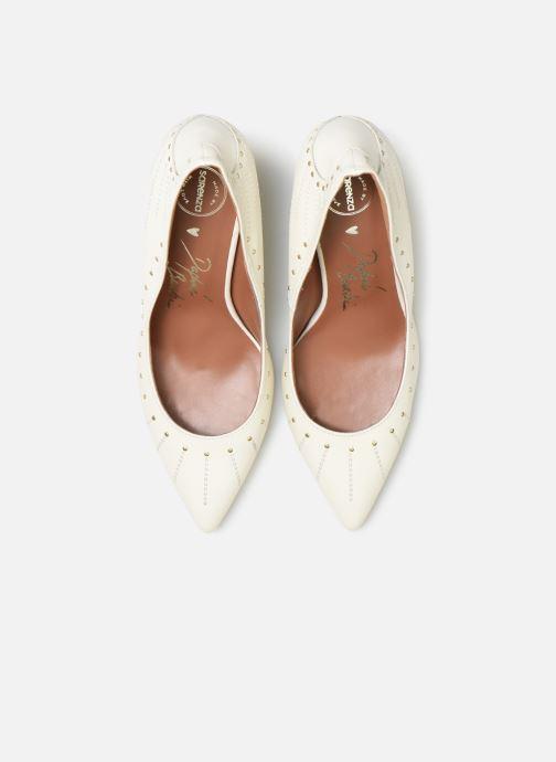 Zapatos de tacón Made by SARENZA Made By Sarenza x Daphné Burki Escarpins Blanco vista de frente