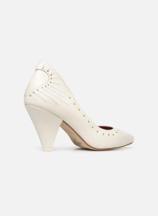 Zapatos de tacón Made by SARENZA Made By Sarenza x Daphné Burki Escarpins Blanco vista lateral derecha