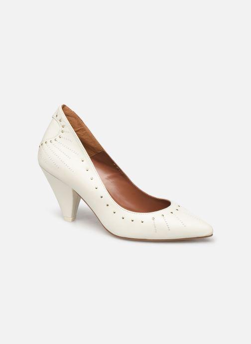 High heels Made by SARENZA Made By Sarenza x Daphné Burki Escarpins White back view