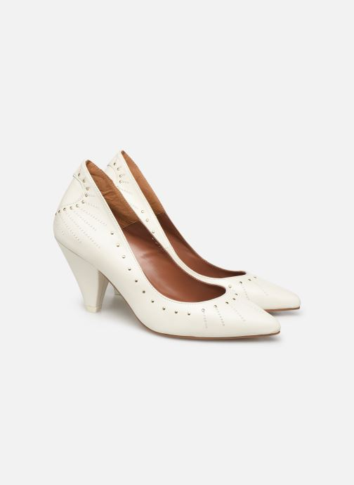 Zapatos de tacón Made by SARENZA Made By Sarenza x Daphné Burki Escarpins Blanco vista lateral izquierda