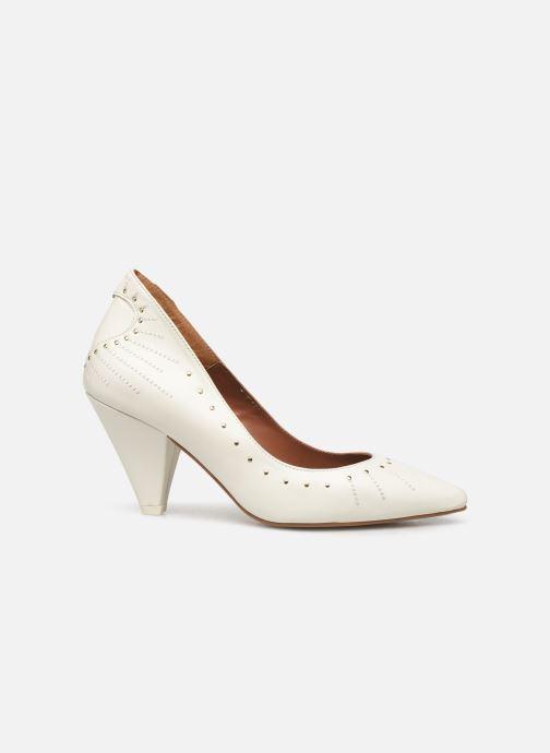 High heels Made by SARENZA Made By Sarenza x Daphné Burki Escarpins White detailed view/ Pair view
