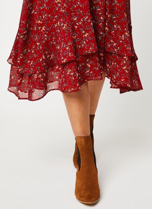 Vêtements See u soon 9231383 Rouge vue face
