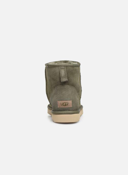 Bottes UGG M Classic Mini Vert vue droite