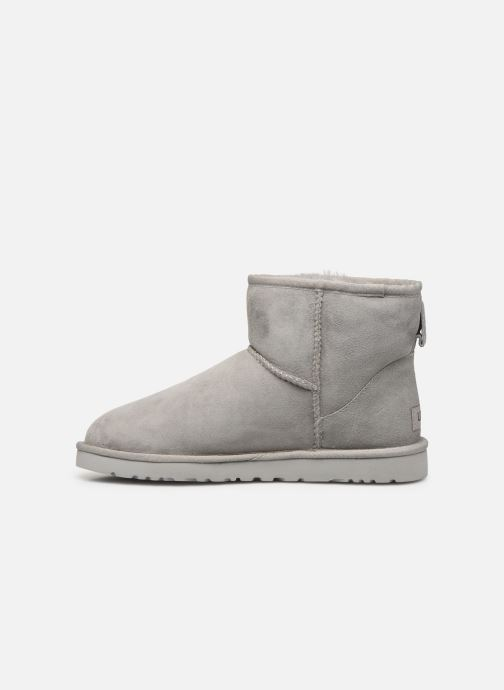 Boots & wellies UGG M Classic Mini Grey front view