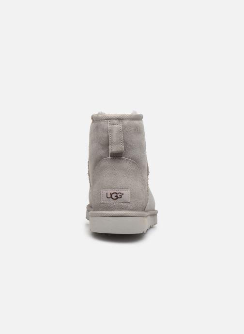 Bottes UGG M Classic Mini Gris vue droite
