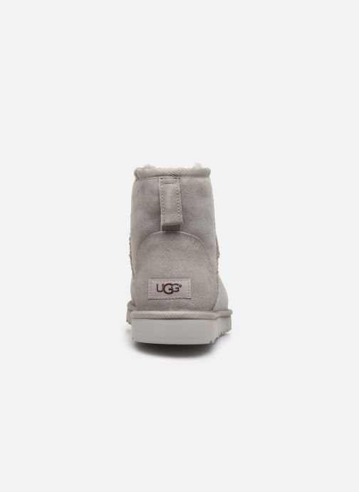 Boots & wellies UGG M Classic Mini Grey view from the right