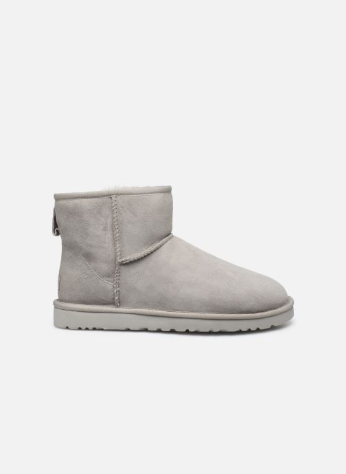 Boots & wellies UGG M Classic Mini Grey back view