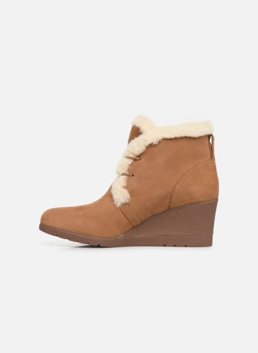 Bottines et boots UGG W Jeovana Marron vue face