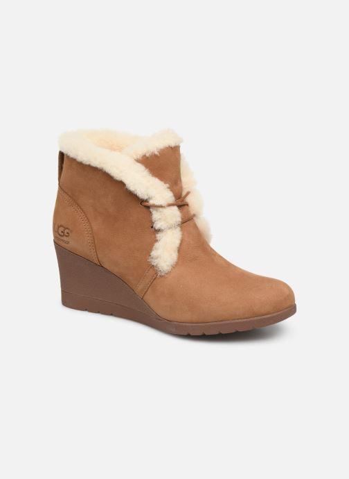 Stiefeletten & Boots UGG W Jeovana braun detaillierte ansicht/modell