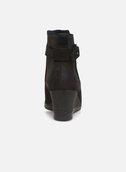 Bottines et boots UGG W Indra Noir vue droite