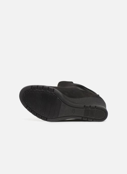 Bottines et boots UGG W Indra Noir vue haut