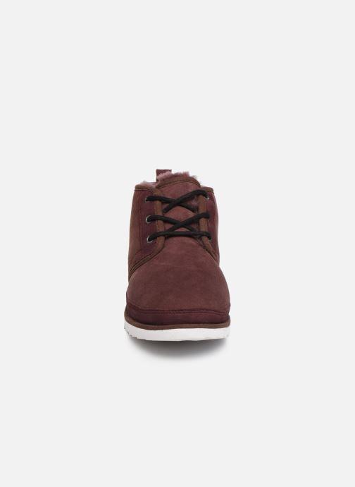 Bottines et boots UGG M Neumel Tf Bordeaux vue portées chaussures