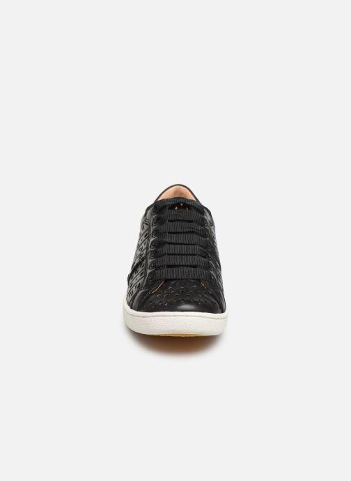 Baskets UGG W Milo Perf Noir vue portées chaussures