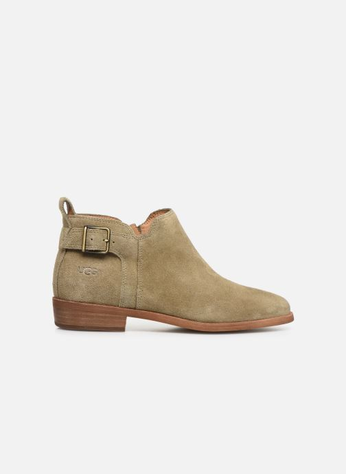 Boots en enkellaarsjes UGG W Kelsea Bruin achterkant