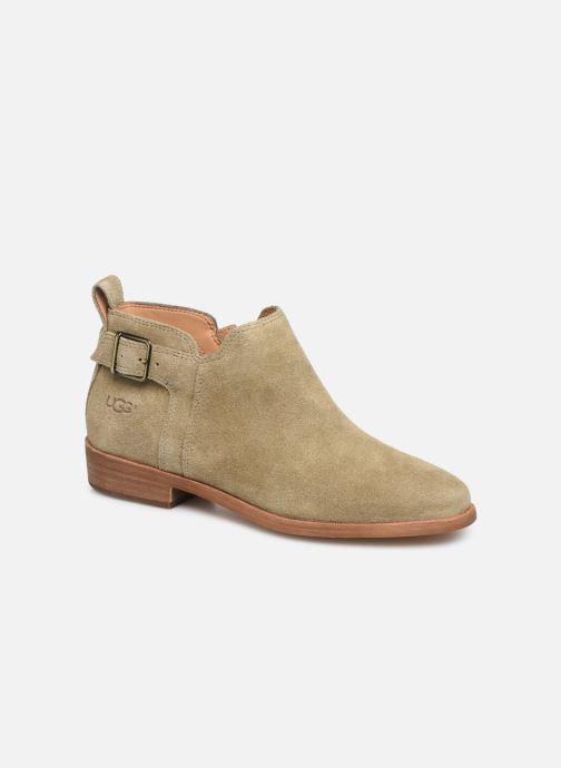Boots en enkellaarsjes UGG W Kelsea Bruin detail