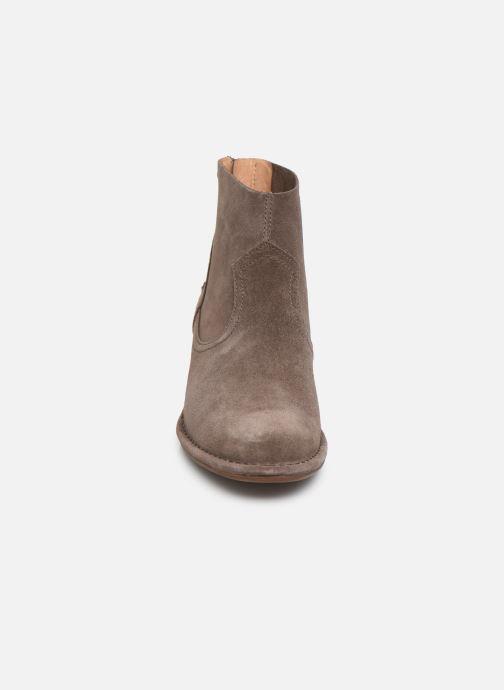 Boots en enkellaarsjes UGG W Bandara Ankle Boot Bruin model