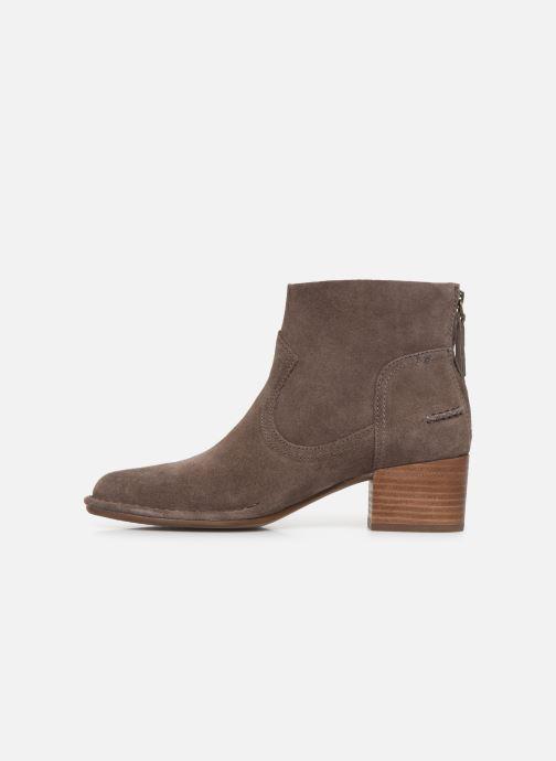 Boots en enkellaarsjes UGG W Bandara Ankle Boot Bruin voorkant