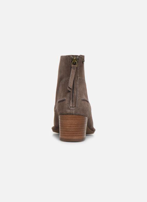 Boots en enkellaarsjes UGG W Bandara Ankle Boot Bruin rechts