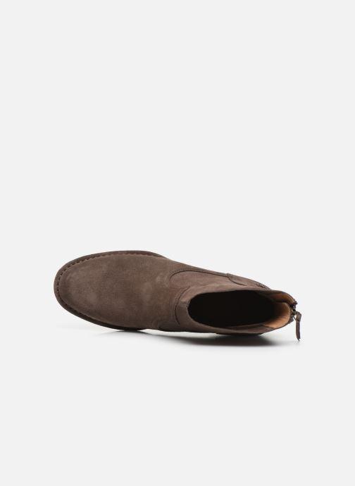 Boots en enkellaarsjes UGG W Bandara Ankle Boot Bruin links