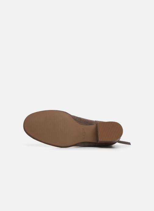 Boots en enkellaarsjes UGG W Bandara Ankle Boot Bruin boven