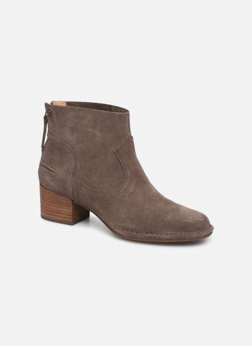 Boots en enkellaarsjes UGG W Bandara Ankle Boot Bruin detail