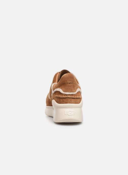 Sneakers UGG W Ashby Spill Seam Sneaker Bruin rechts