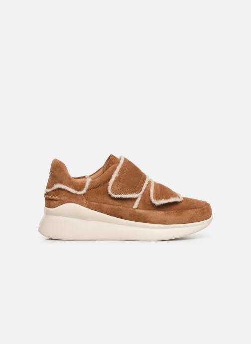 Sneakers UGG W Ashby Spill Seam Sneaker Bruin achterkant