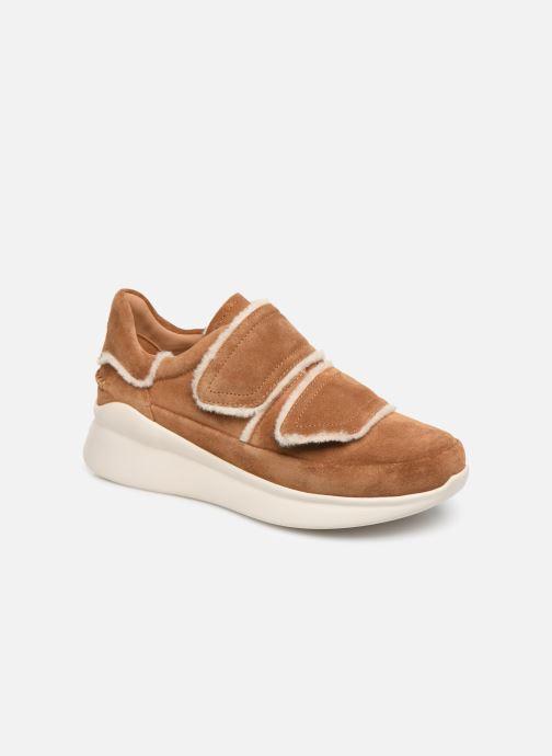 Baskets UGG W Ashby Spill Seam Sneaker Marron vue détail/paire
