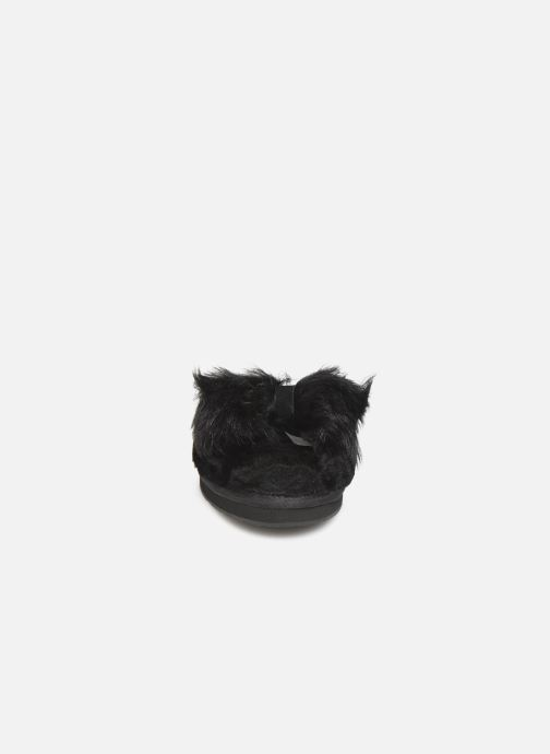 Chaussons UGG W Mirabelle Slipper Noir vue portées chaussures