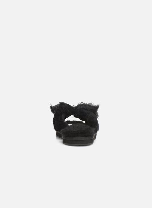 Pantuflas UGG W Mirabelle Slipper Negro vista lateral derecha