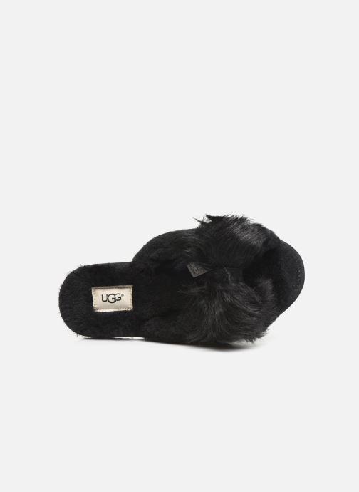 Chaussons UGG W Mirabelle Slipper Noir vue gauche
