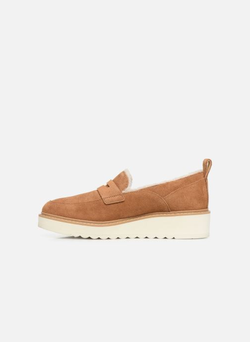 Mocassins UGG W Atwater Spill Seam Loafer Marron vue face