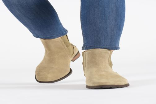 Bottines et boots UGG W Hillhurst Boot Gris vue bas / vue portée sac