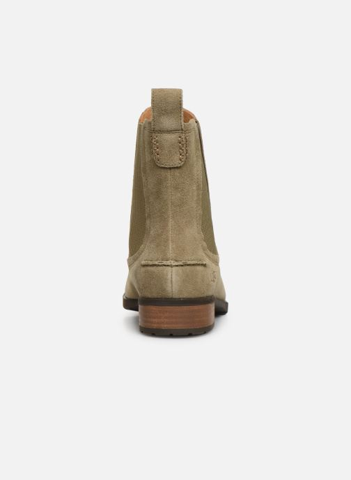 Bottines et boots UGG W Hillhurst Boot Gris vue droite