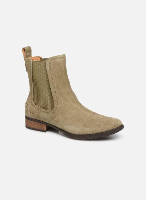 Bottines et boots UGG W Hillhurst Boot Gris vue détail/paire