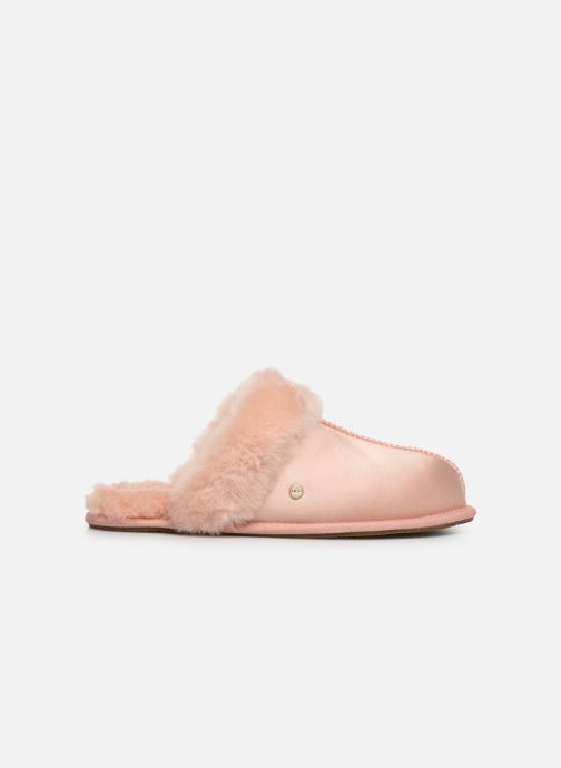 Slippers UGG W Scuffette II Satin Pink back view