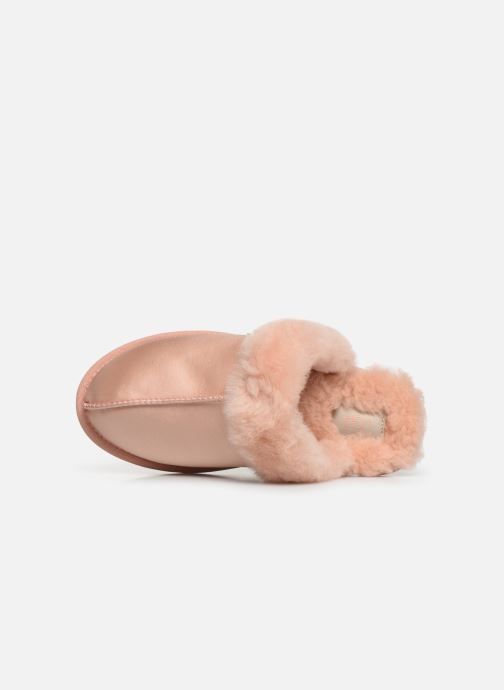 Slippers UGG W Scuffette II Satin Pink view from the left