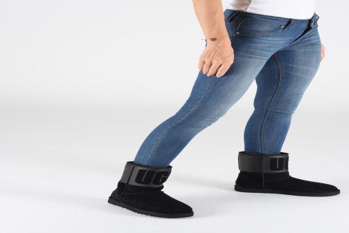 Laarzen UGG W Classic Short UGG Rubber Zwart onder
