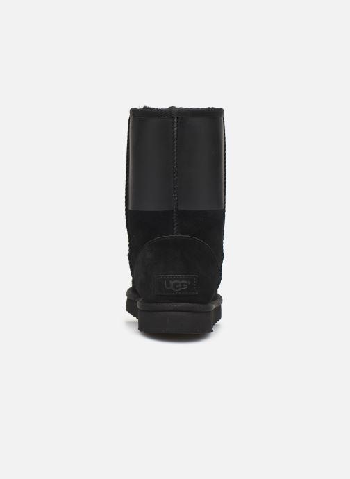 Laarzen UGG W Classic Short UGG Rubber Zwart rechts