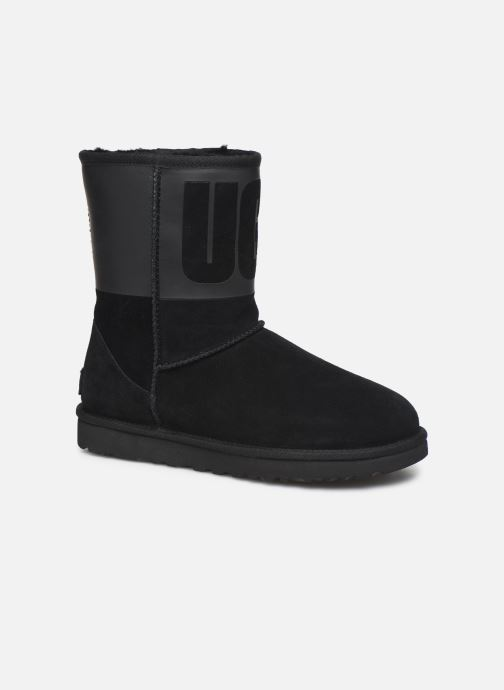 Bottes Femme W Classic Short UGG Rubber