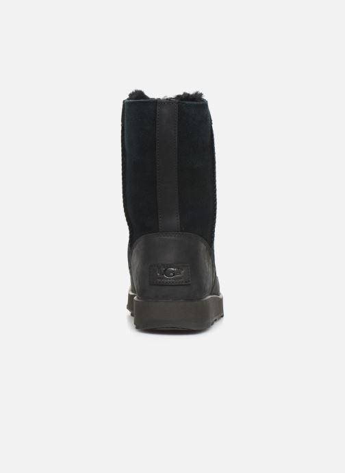 Bottes UGG W Conness Waterproof Noir vue droite