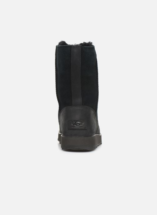 Botas UGG W Conness Waterproof Negro vista lateral derecha