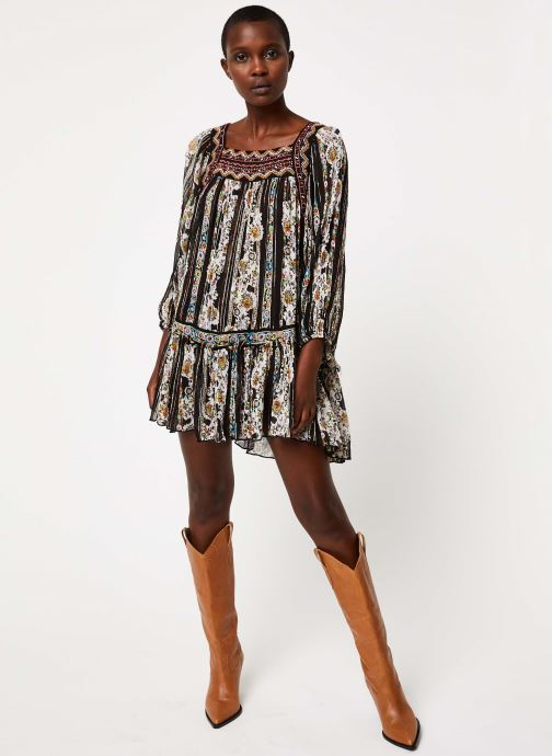 Vêtements Free People DANCE MAGIC TUNIC Noir vue bas / vue portée sac