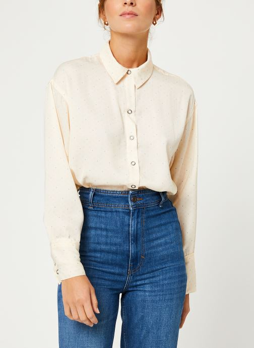 Vêtements Free People ALL SMILES TOP Blanc vue détail/paire