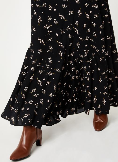 Vêtements Free People RUBY'S FOREVER MAXI SKIRT Noir vue face