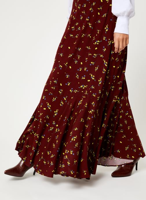 Vêtements Free People RUBY'S FOREVER MAXI SKIRT Marron vue face