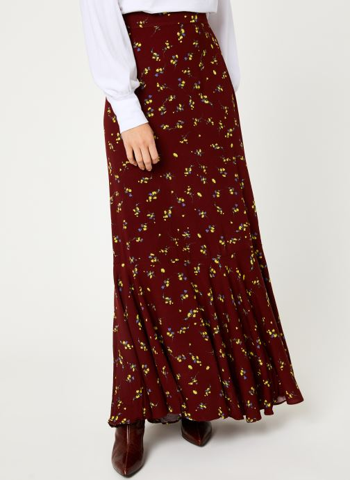 Vêtements Free People RUBY'S FOREVER MAXI SKIRT Marron vue détail/paire