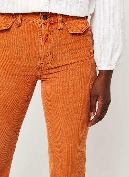 Vêtements Free People ACES HIGH STRAIGHT CORD Orange vue face