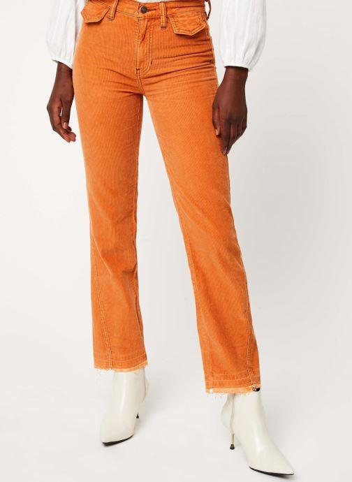 Vêtements Free People ACES HIGH STRAIGHT CORD Orange vue détail/paire